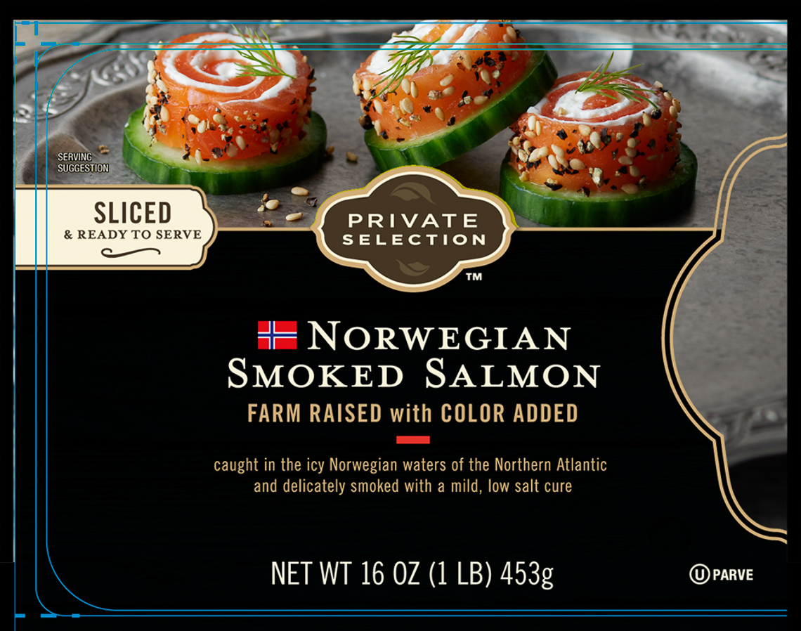 Kroger:Norwegian Smoked Salmon