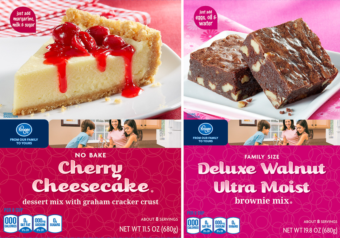 Kroger:Cheesecake + Brownies