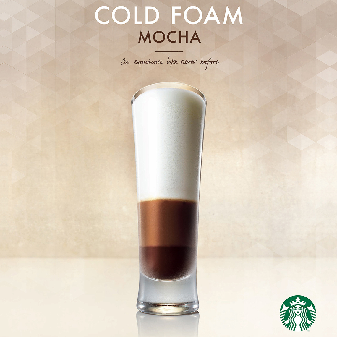 Starbucks:Cold Foam Mocha