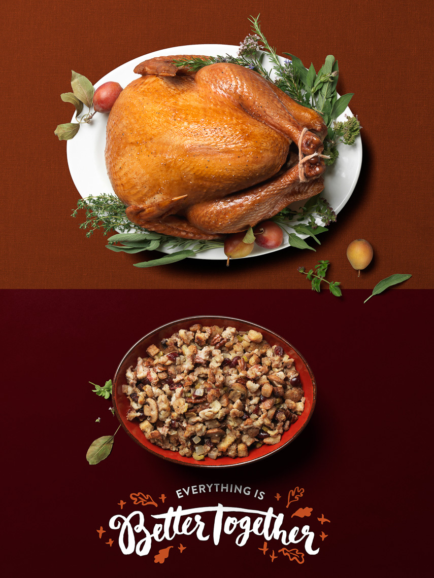 New Seasons:Turkey + Stuffing