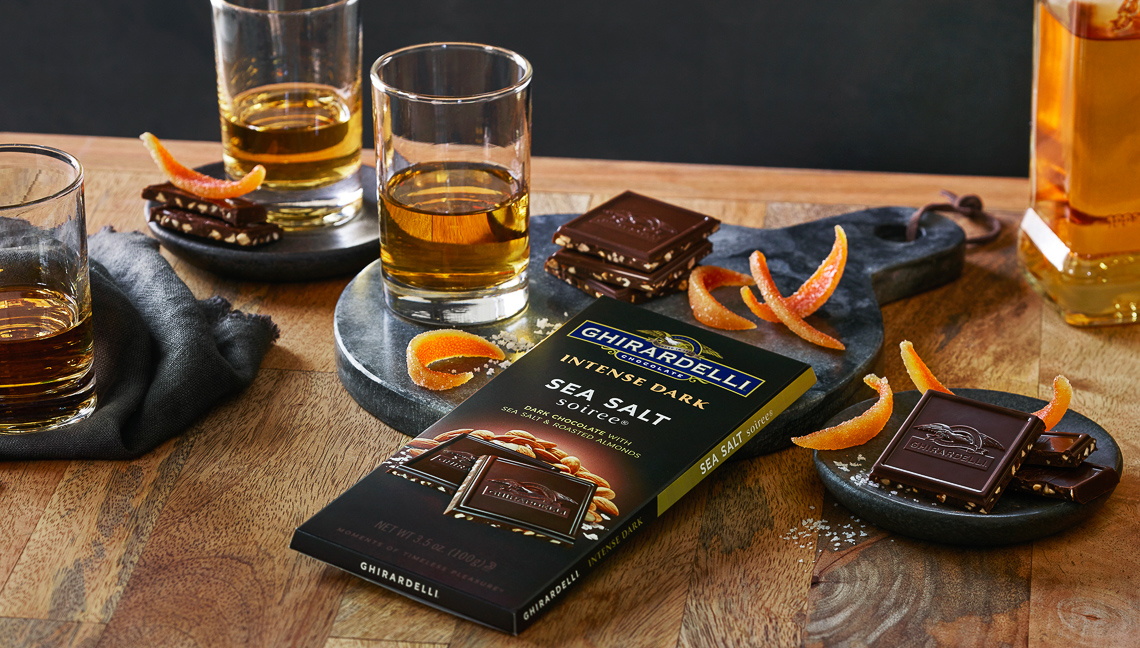 Ghirardelli:Intense Dark Chocolate Sea Salt
