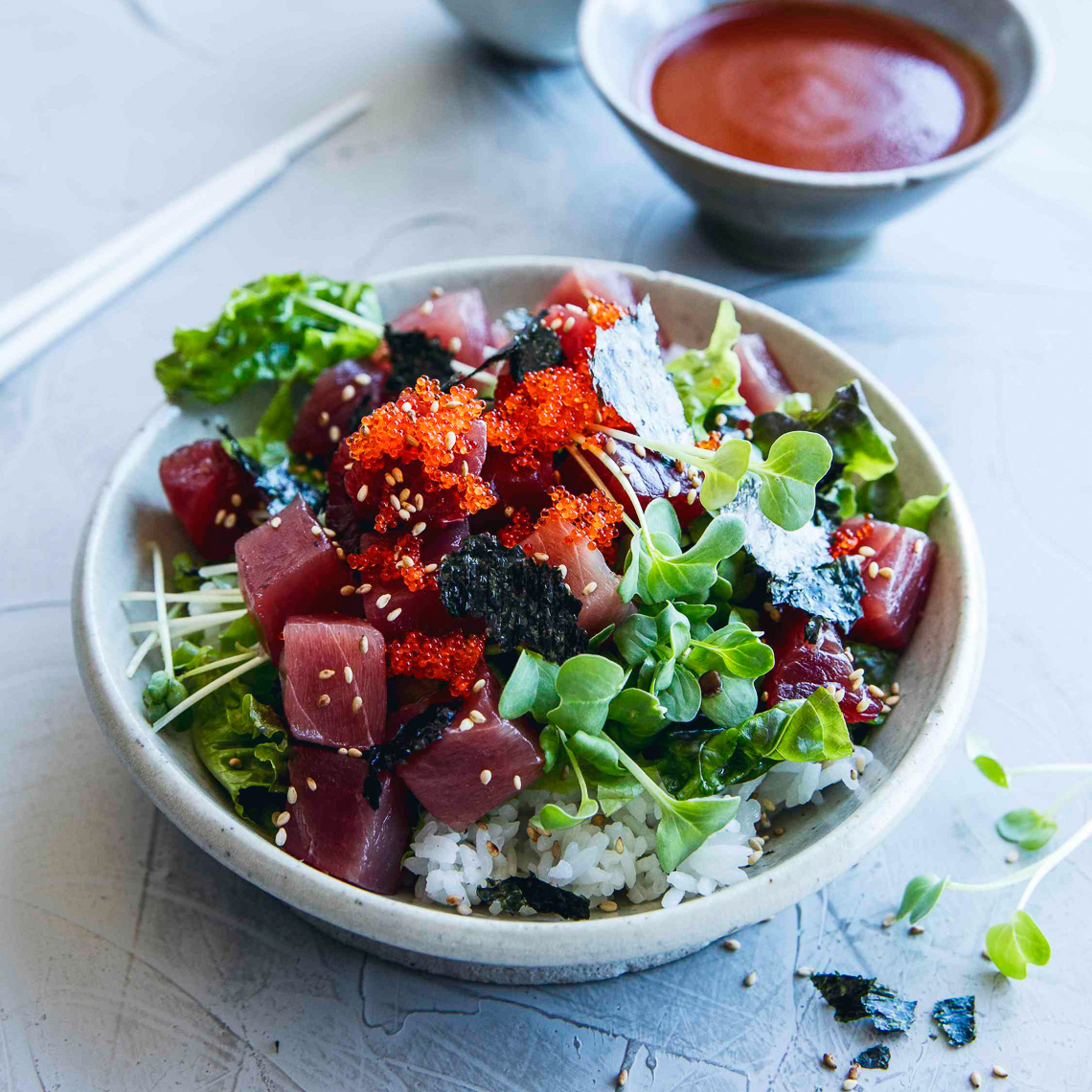 Poke Cookbook:KoreanBowl