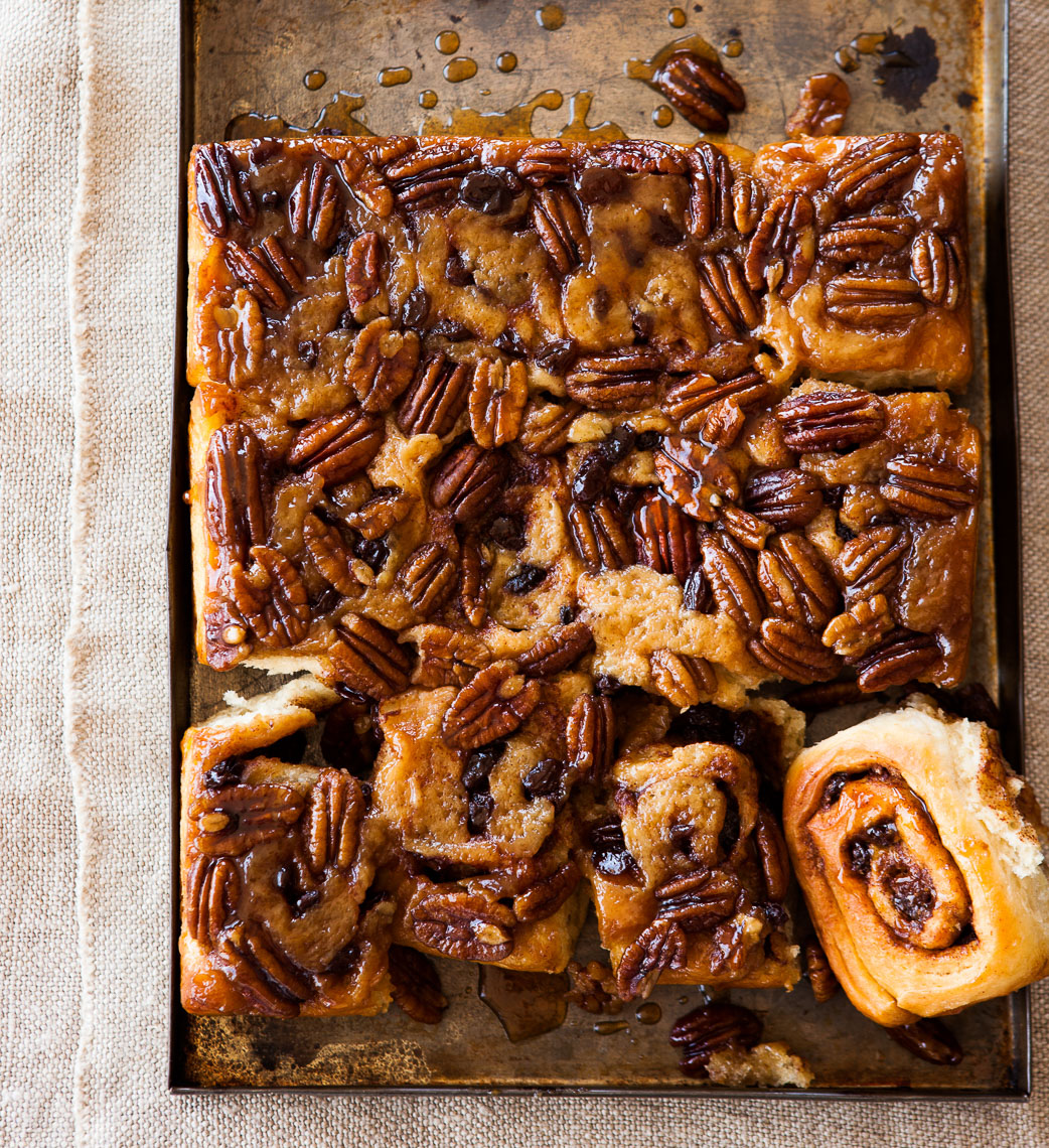 GM Baking:Maple Pecan Buns