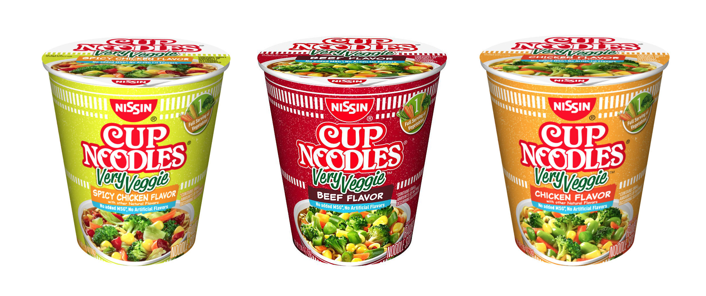 Cup Noodles:Very Veggie