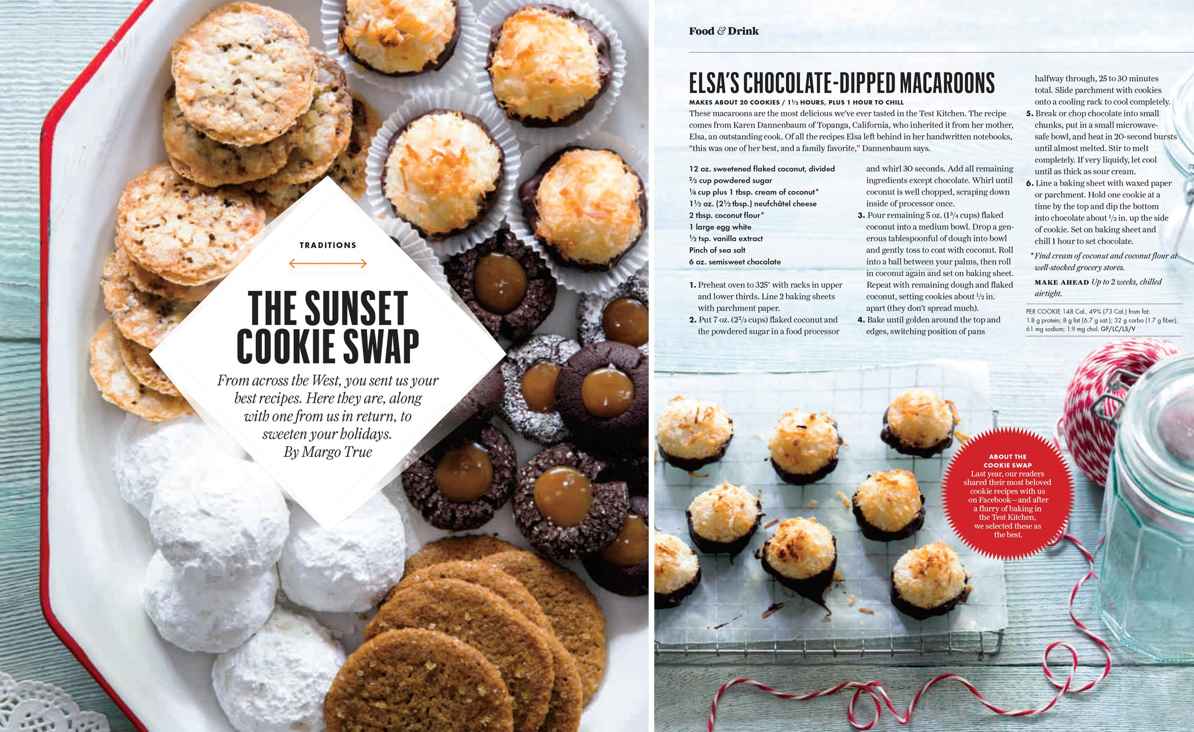 Sunset:Cookie Swap
